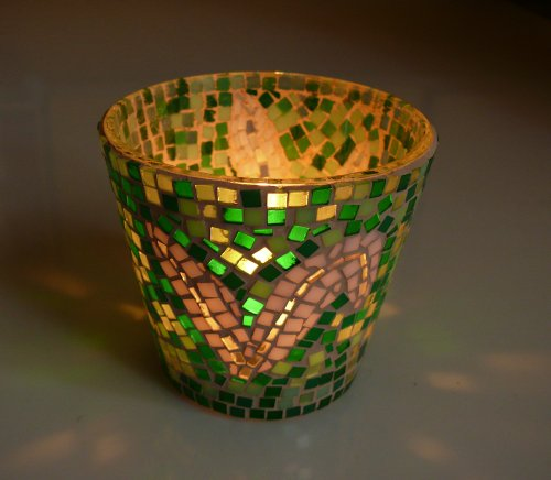 Mozaika a sklo