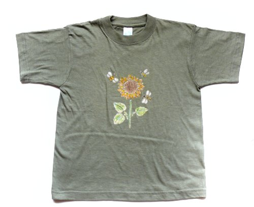 Savování trička přes šablonu