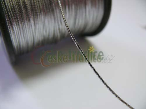 Dutinka lurex, 1mm