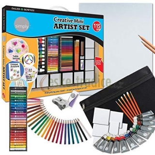 Simply Creative Mini Artist Set, 115 dílů